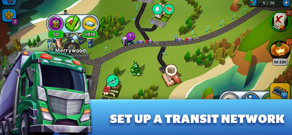 Transit King Tycoon – Building Cheat Codes