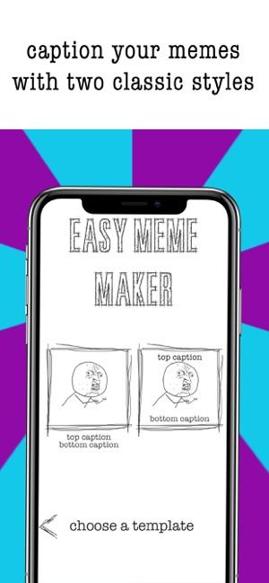 Easy Meme Maker- Funny Pics on the App Store