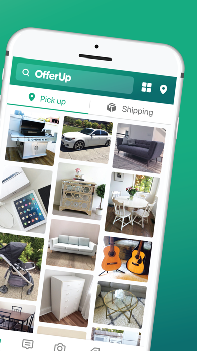 OfferUp - Buy. Sell. Simple. Screenshot on iOS