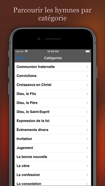 Recueil de Cantiques screenshot-6
