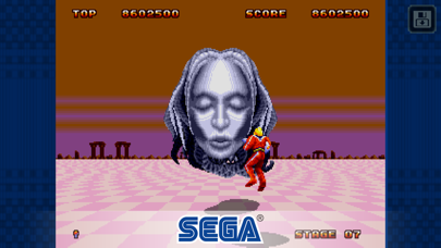 Screenshot from Space Harrier II Classic