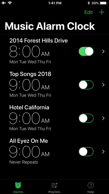 Music Alarm Clock.