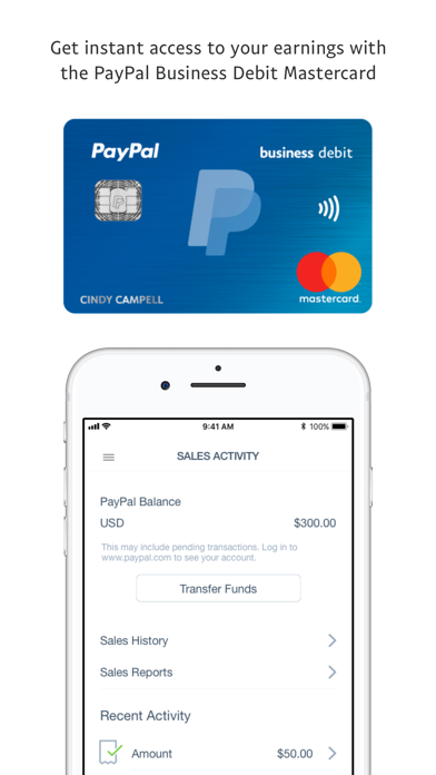 PayPal Here™ – Get Paid Anywhere App Profile  Reviews