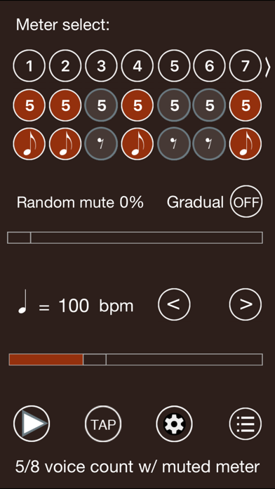 Time Guru Metronome app image