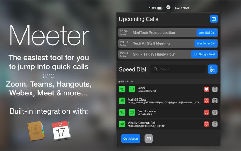 Meeter Screenshot