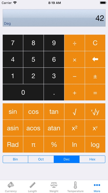 Convert - Unit and Currency screenshot-5