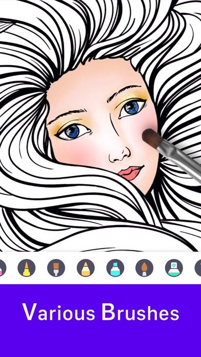 inColor - Art Coloring Space screenshot 1