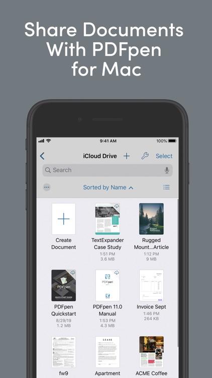 PDFpen 5 – PDF Editor screenshot-3
