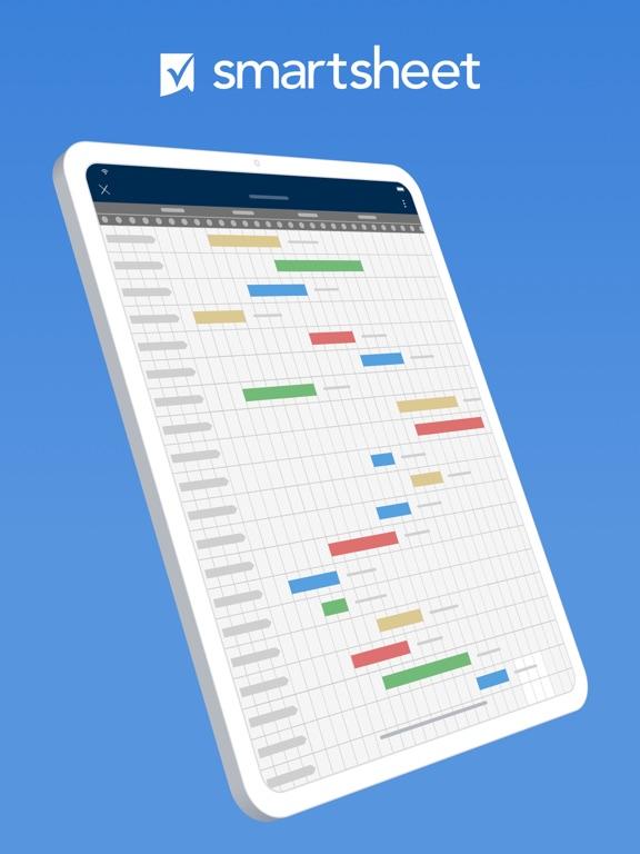 Smartsheet – Project Management, Gantt Charts, Task Management screenshot