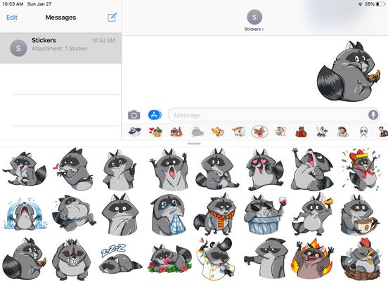 Fox Cute Funny Emoji Stickers screenshot 4