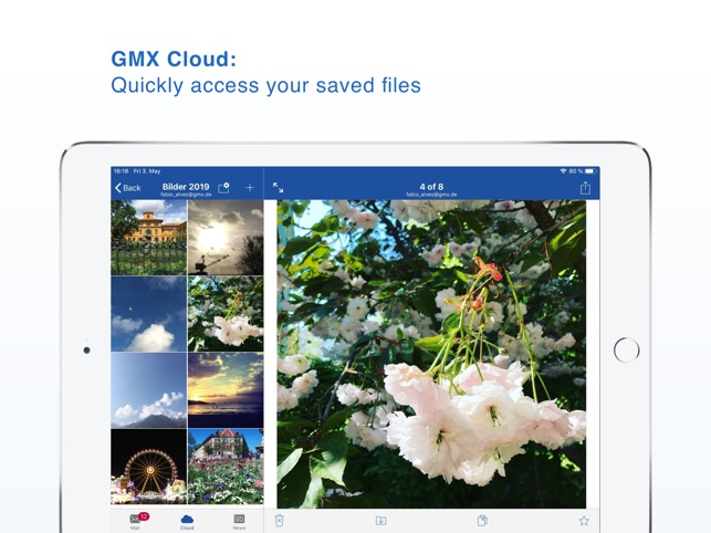 GMX - Mail & Cloud on the App Store