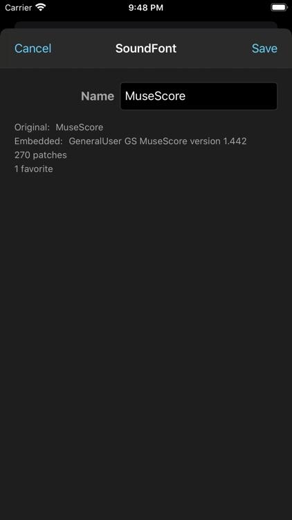 SoundFonts screenshot-4