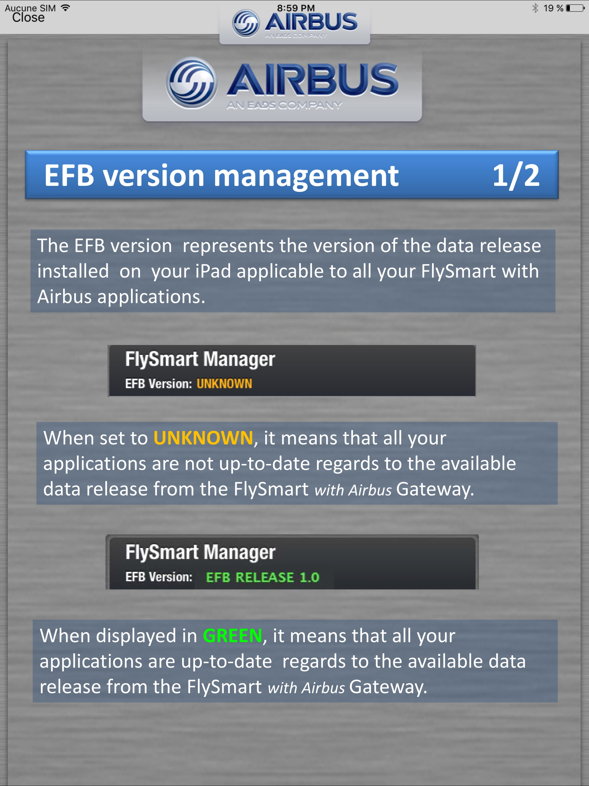 Flysmart+ Manager Screenshot