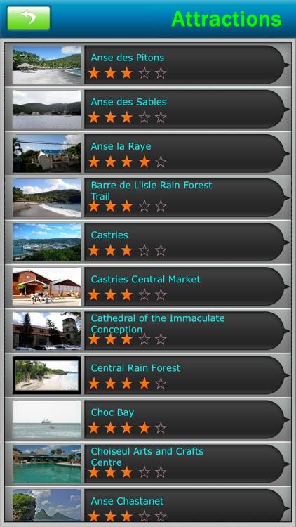St. Lucia Offline Travel Guide