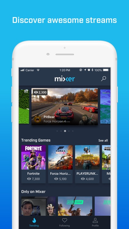 Mixer - Interactive Streaming screenshot-0