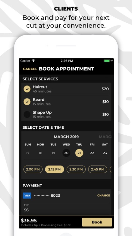 theCut: #1 Barber Booking App