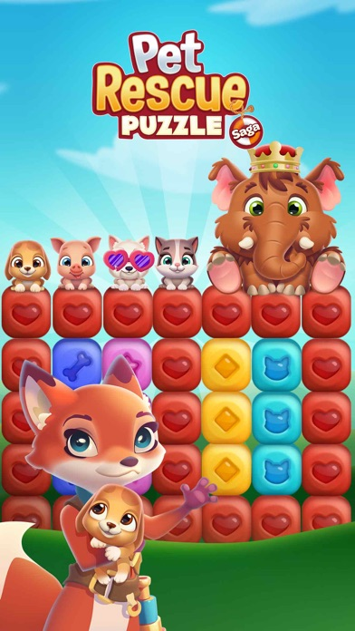 Screenshot for Pet Rescue Puzzle Saga in United States App Store