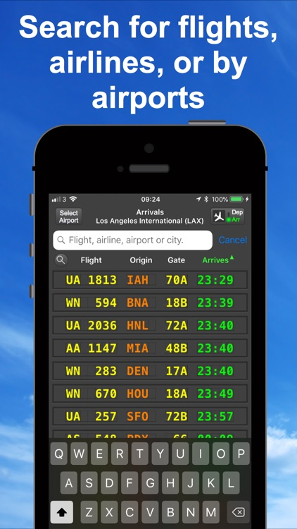 mi Flight Board Airport status screenshot-4