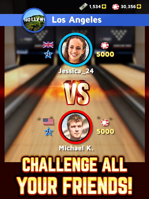Bowling King screenshot