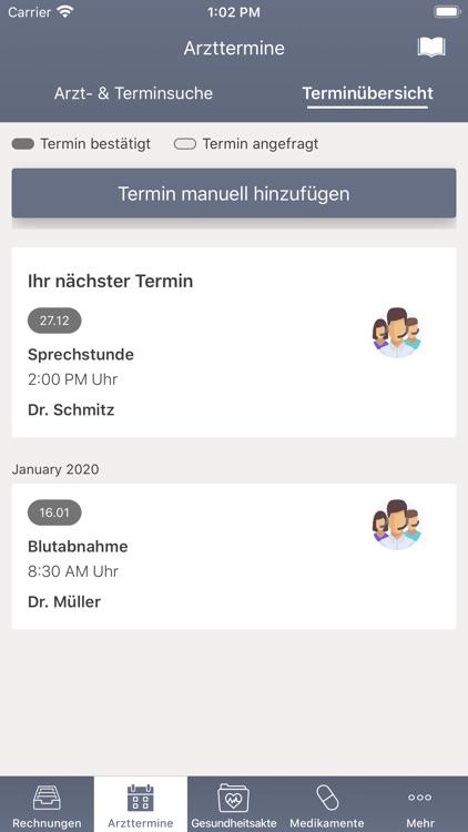 Meine Gesundheit der DBV screenshot-3