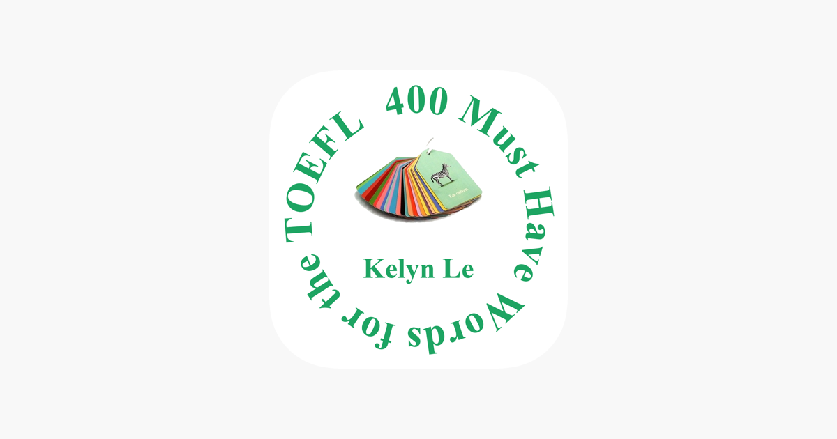 400 Must Have Words for TOEFL on the App Store