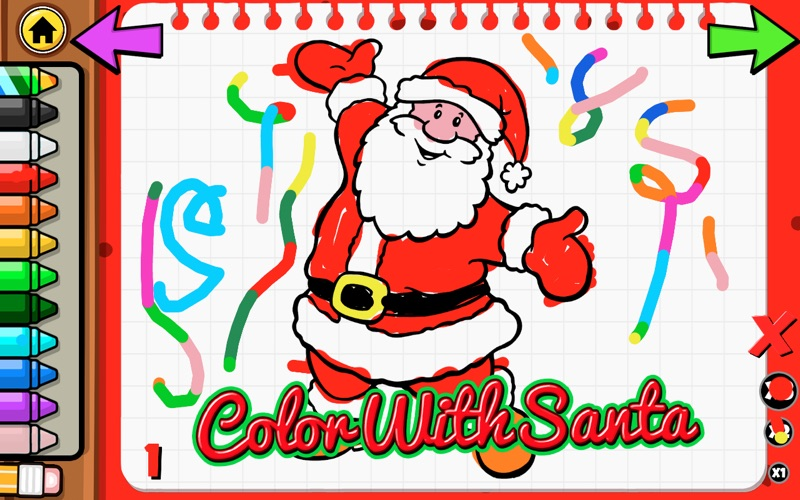 Color With Santa for Mac