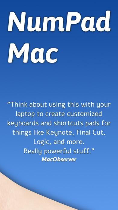 Remote NumPad for Mac Screenshots