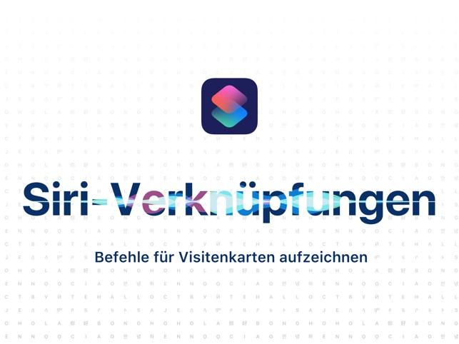 Visitenkarten Scanner Im App Store