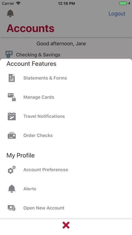 Bank of Oklahoma Mobile screenshot-4