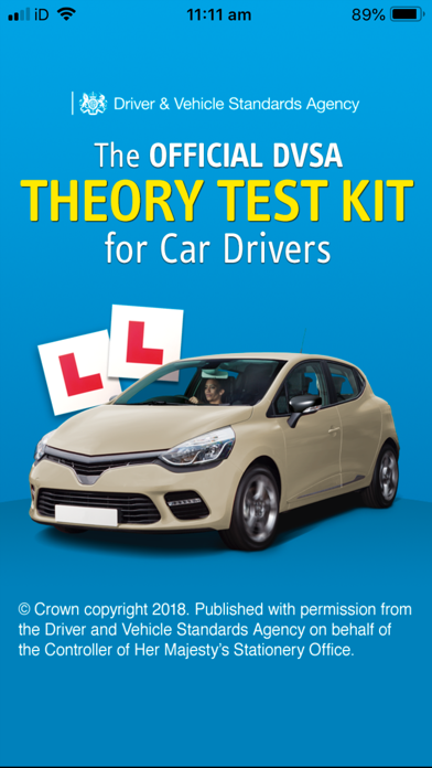 Screenshot for Official DVSA Theory Test Kit in Greece App Store