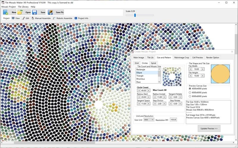 Tile Mosaic Maker Pro for Mac