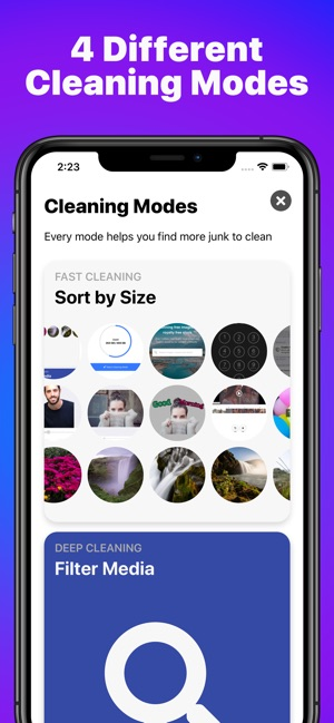cleaning apps on iphone