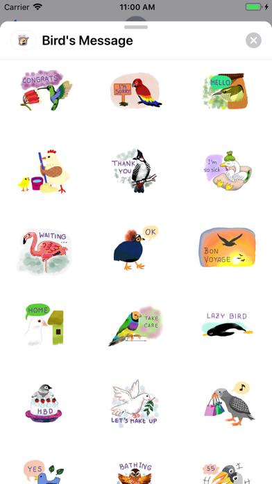 Bird's Message screenshot 2