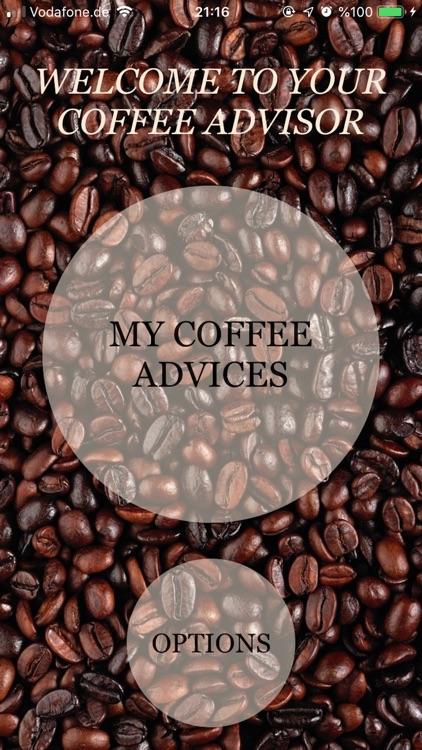 Coffee Advisor screenshot-0