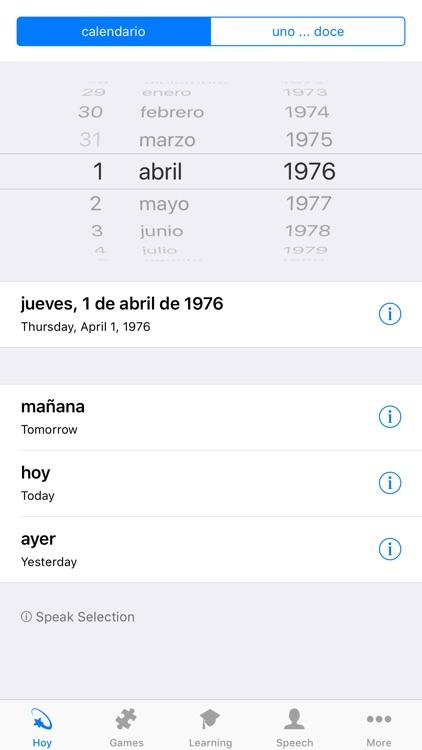 Calendario Julio 1976.Learn Spanish Calendar 2019 By Bjoern Gumboldt