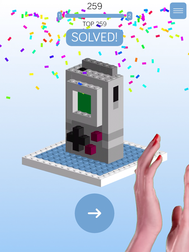 Blocko Drop, game for IOS
