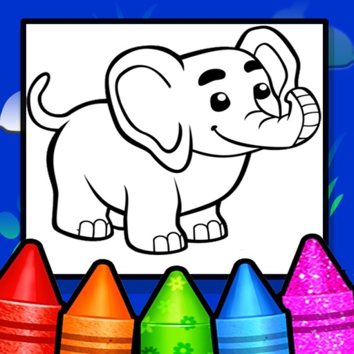 Animals & Birds Coloring book