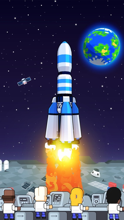 Rocket Star: Idle Tycoon Game screenshot-6