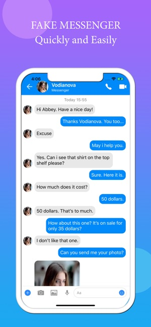 Fake Text Message - Fake Call on the App Store