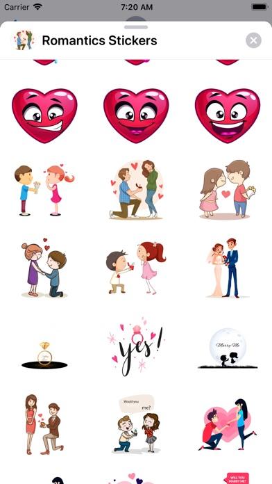 Romantic Love ,Stickers app image