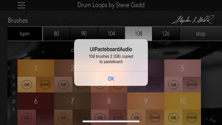 Drum Loops by Steve Gadd screenshot-3
