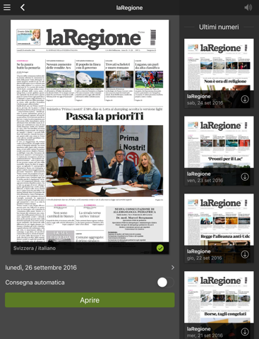 laRegione giornale - náhled