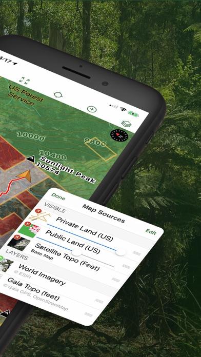 Gaia GPS Hiking, Offroad Maps Screenshot