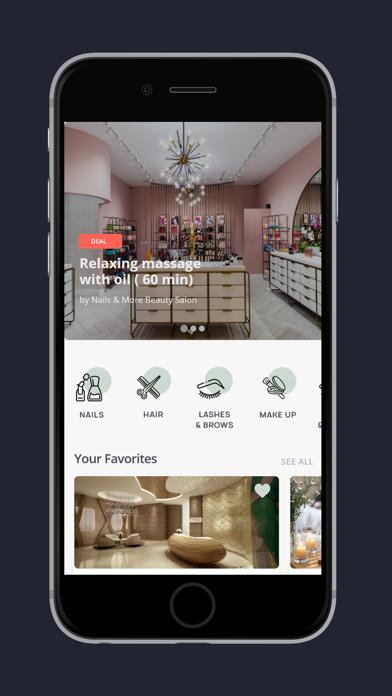 Bookit - Wellness App screenshot 2