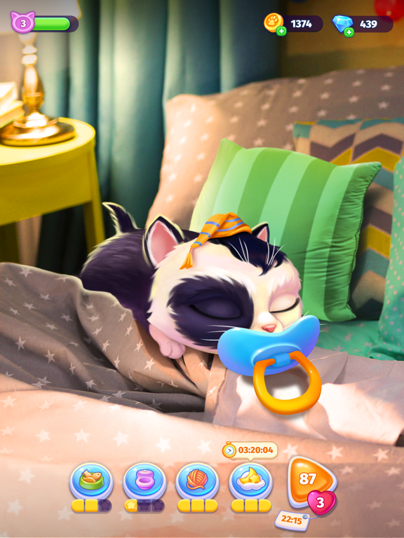 iPad Image of My Cat! – Virtual Pet Game