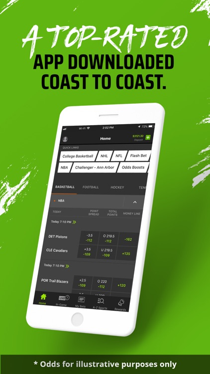 DraftKings Sportsbook & Casino screenshot-0