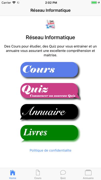Cours de Réseau Informatique screenshot 1