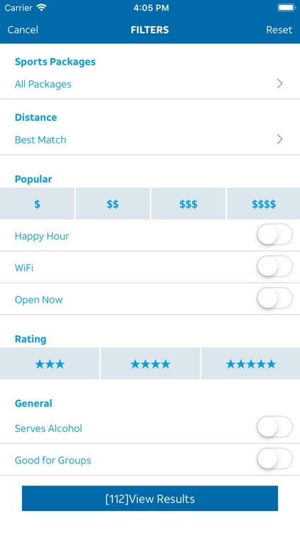 Sports Bar Finder screenshot-5