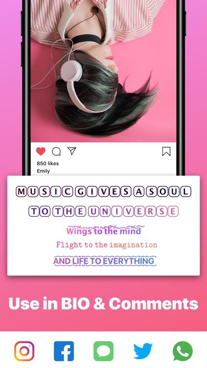 Font App - Cool Fonts Keyboard screenshot-3