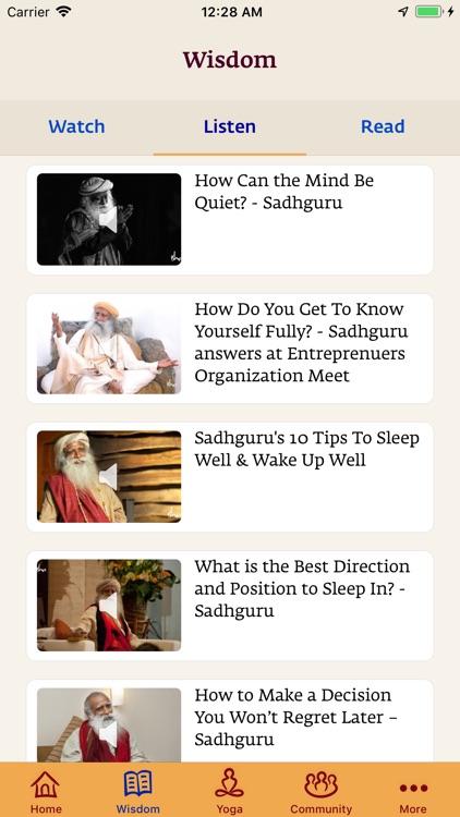 Sadhguru- Yoga & Meditation screenshot-5